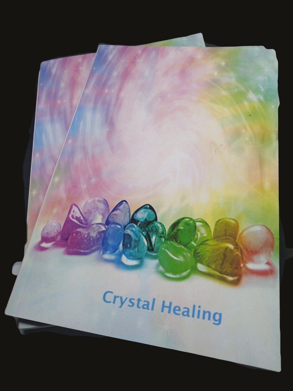 CRYSTAL HEALING NOTE BOOK