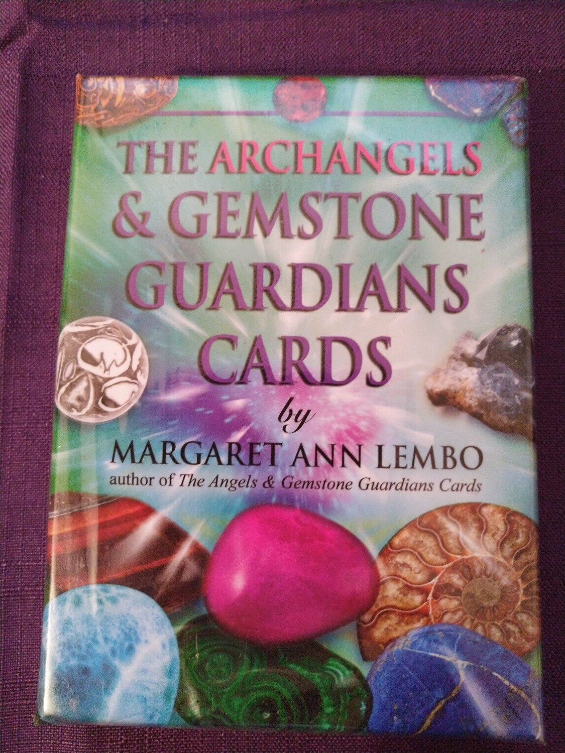 THE ARCHANGELS & GEMSTONE GUARDIANS CARDS BY MARGARET LEMBO