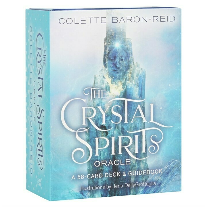 THE CRYSTAL SPIRITS ORACLE CARDS BY COLLETE BARON-REID