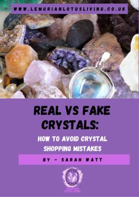 REAL VS FAKE CRYSTALS EBOOK