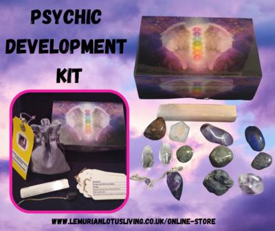PSYCHIC DEVELOPMENT  CRYSTAL BOX SET