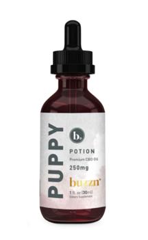buzzn Puppy Potion Premium CBD Oil 250mg