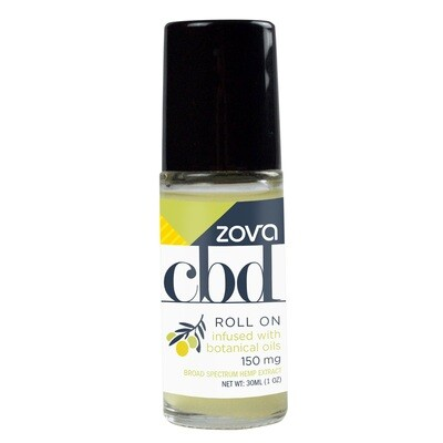 Zova CBD Roll On Infused with Botanical Oils 150mg 30mL