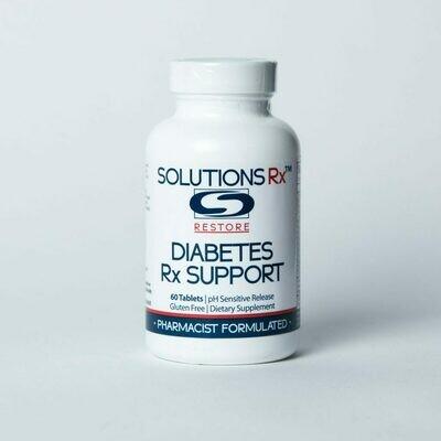 SolutionsRX Diabetes Rx Support 60 tablets