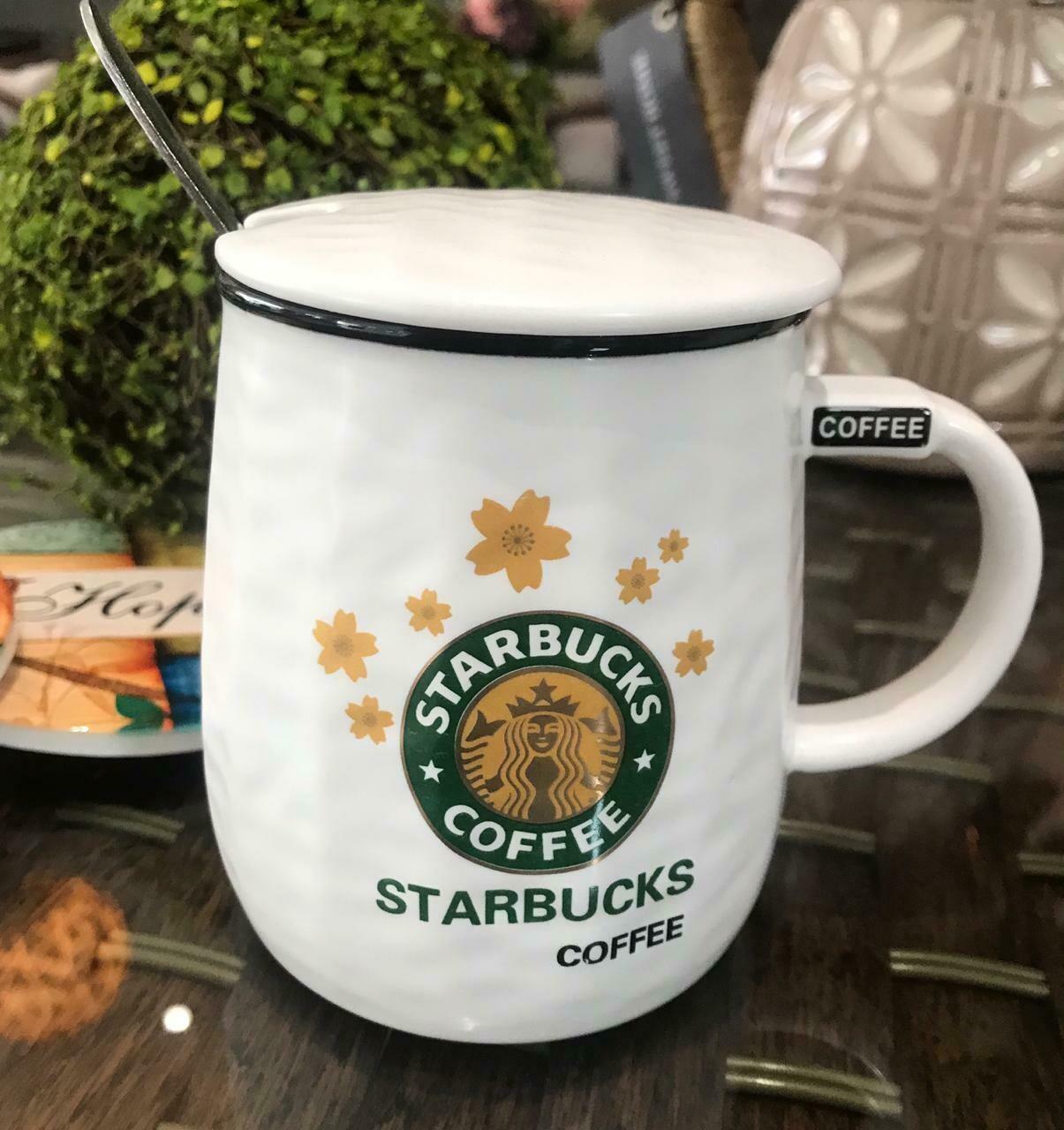 Jarro Starbucks 003- Tapa Cerámica