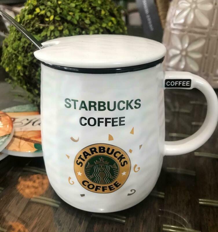 Jarro Starbucks 001 - Tapa Cerámica