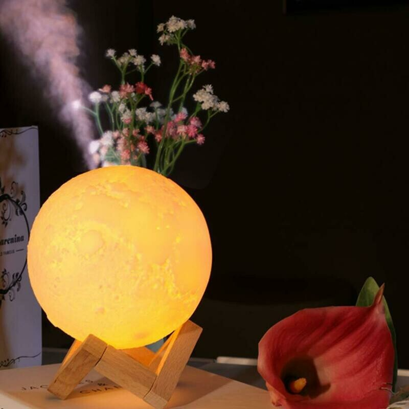 Lámpara de Luna - Humidificador De Aire - Aroma Difusor