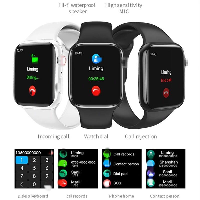 Smartwatch T80 - Contesta llamadas y Controla Actividades Físicas.