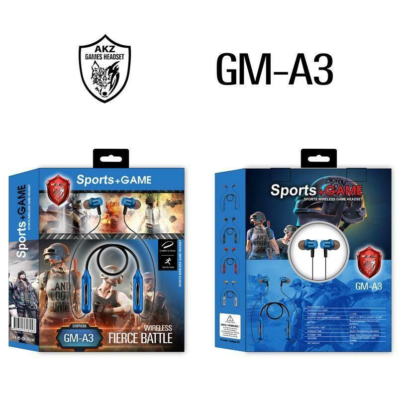 Audífonos Inalámricos GM-A3 Bluethooth