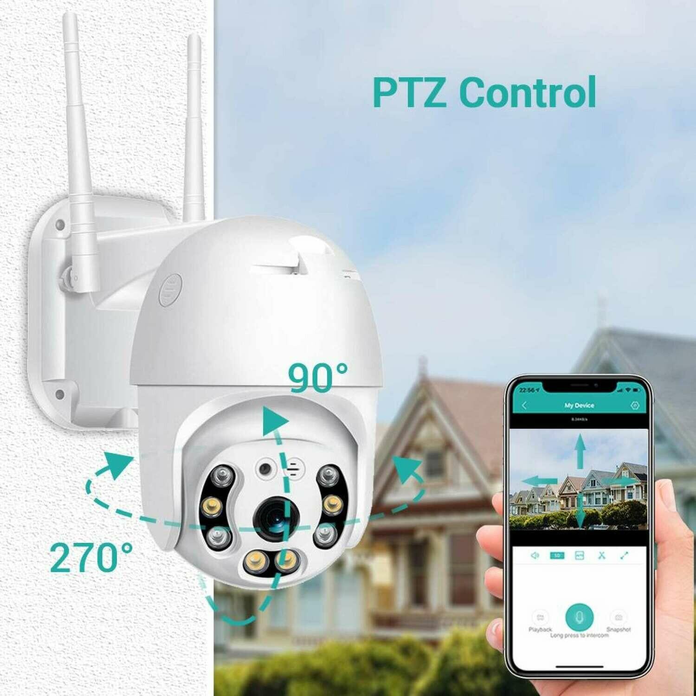 Cámara IP Smart WIFI - PTZ 1080P -Cloud Storage
