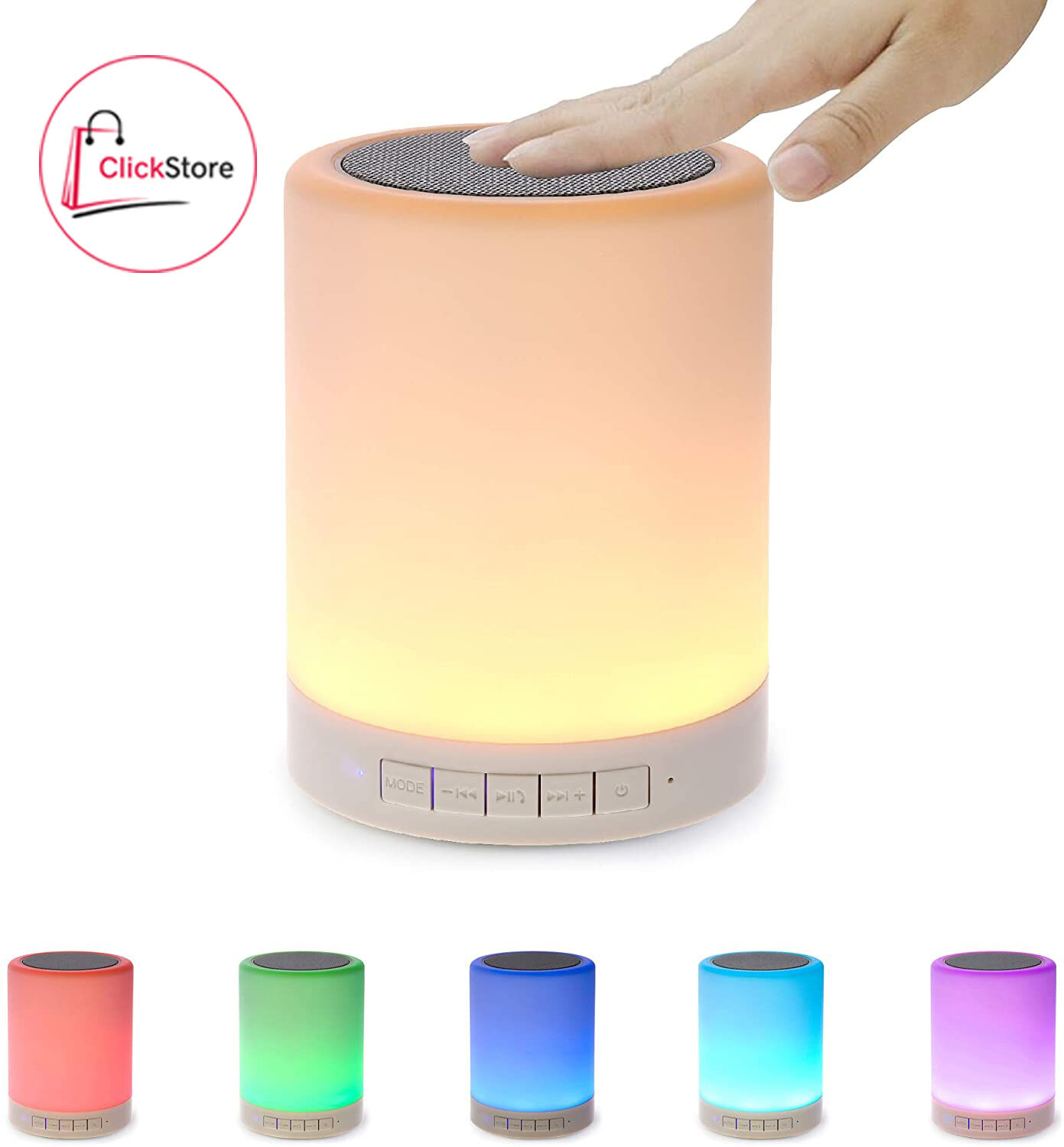 Parlante M16 Bluetooth Smart Lamp con luz LED