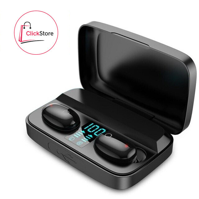 Audífonos inalámbricos TWS A16 + Power Bank + Bluetooth