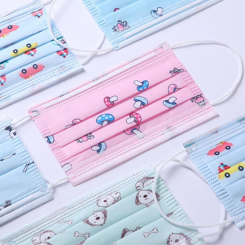 Mascarillas para niños - Paquete 50 unidades