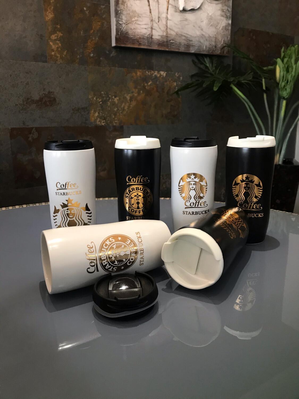 Jarro Starbucks con tapa