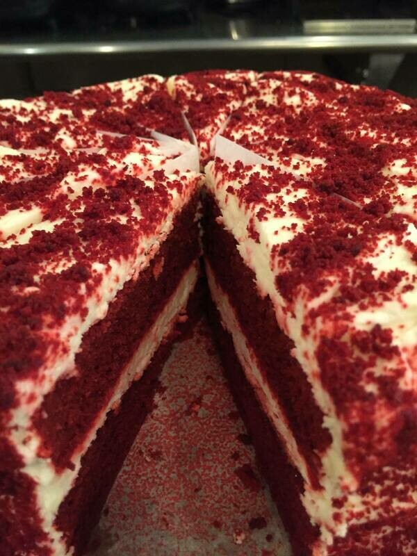 """7"""" Red Velvet Cake"""