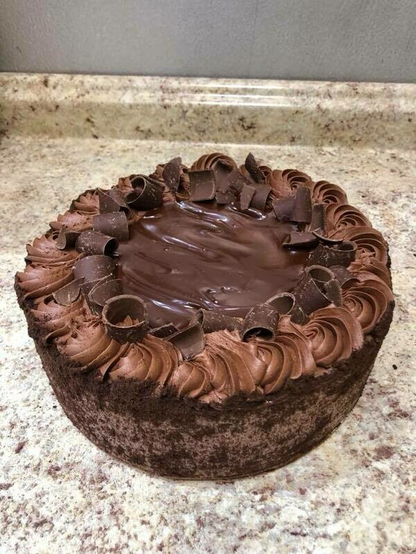 Chocolate Layer Cake 10