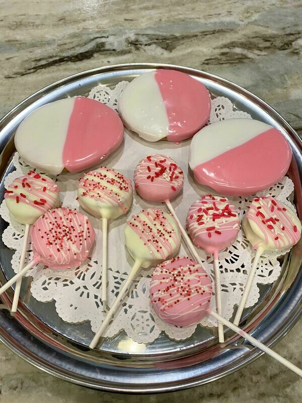 Pink\White Cookies