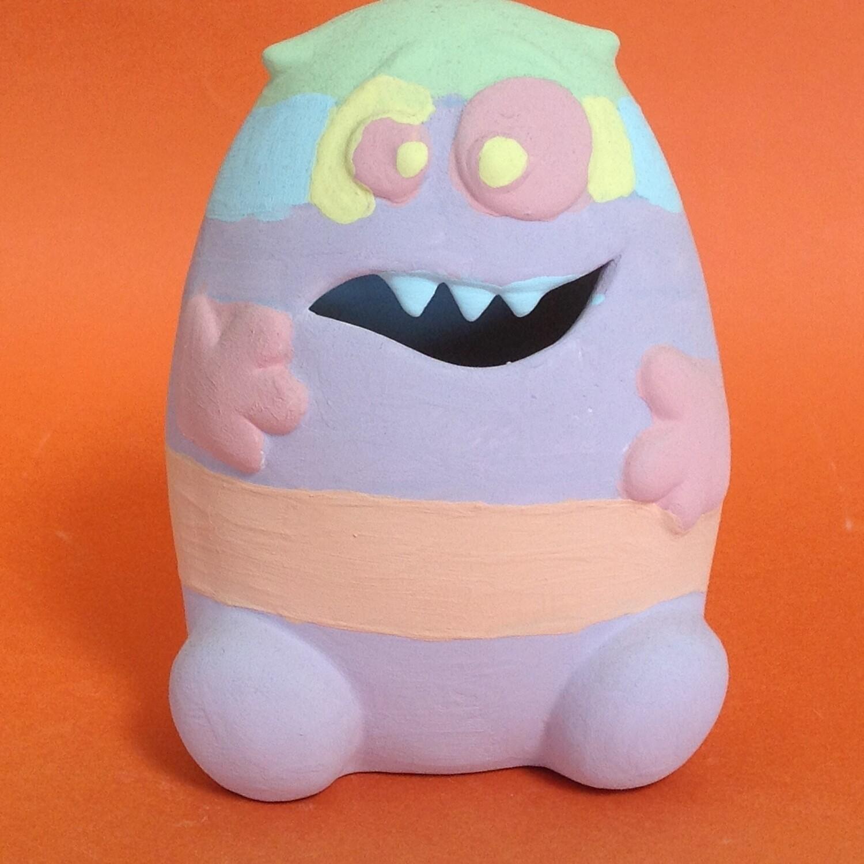 Monster - hungry, money box