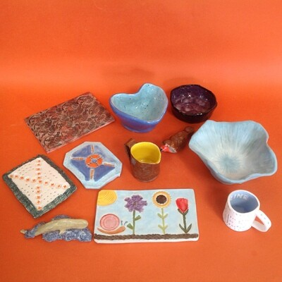 Clay Club, two hour Wednesday afternoon, 5 weeks starting 16 September 2020