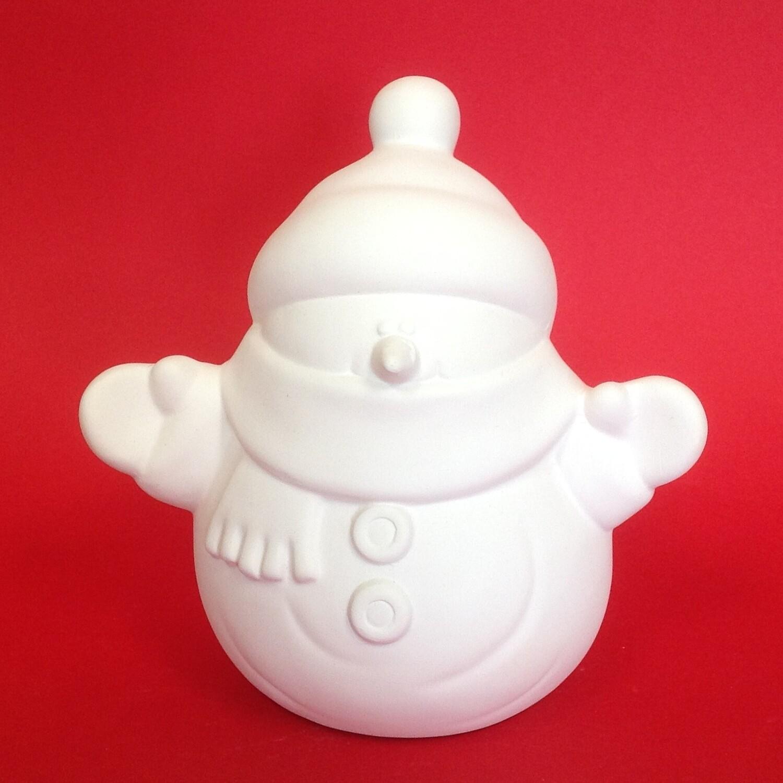 Snowman figure - medium