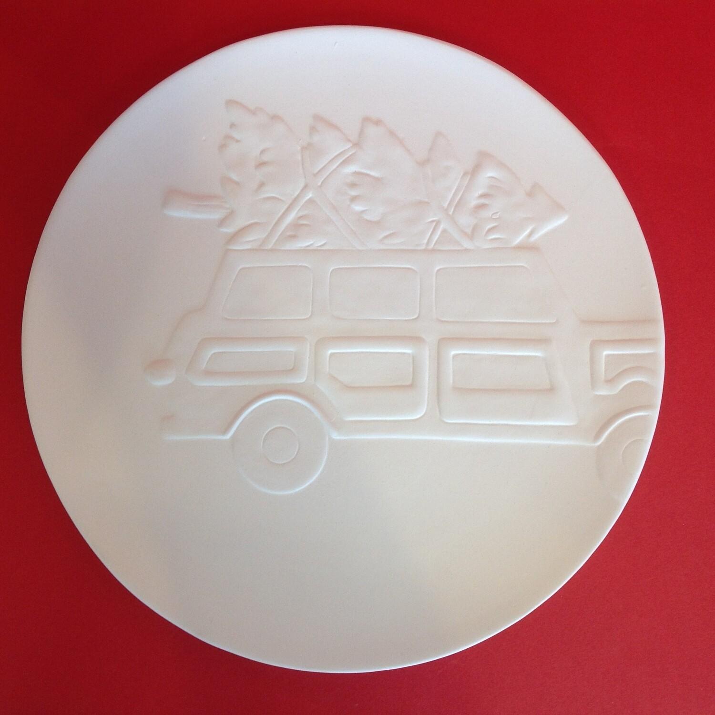 Station Wagon Car Plate