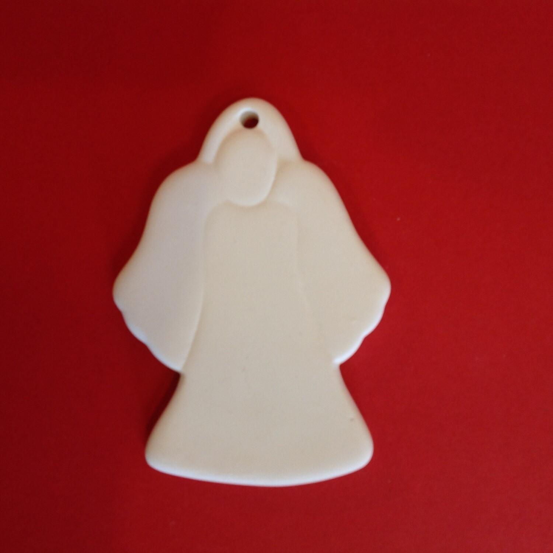 Angel flat hanging ornament