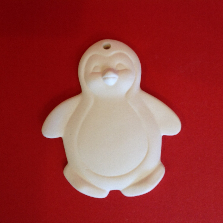 Penguin flat hanging ornament