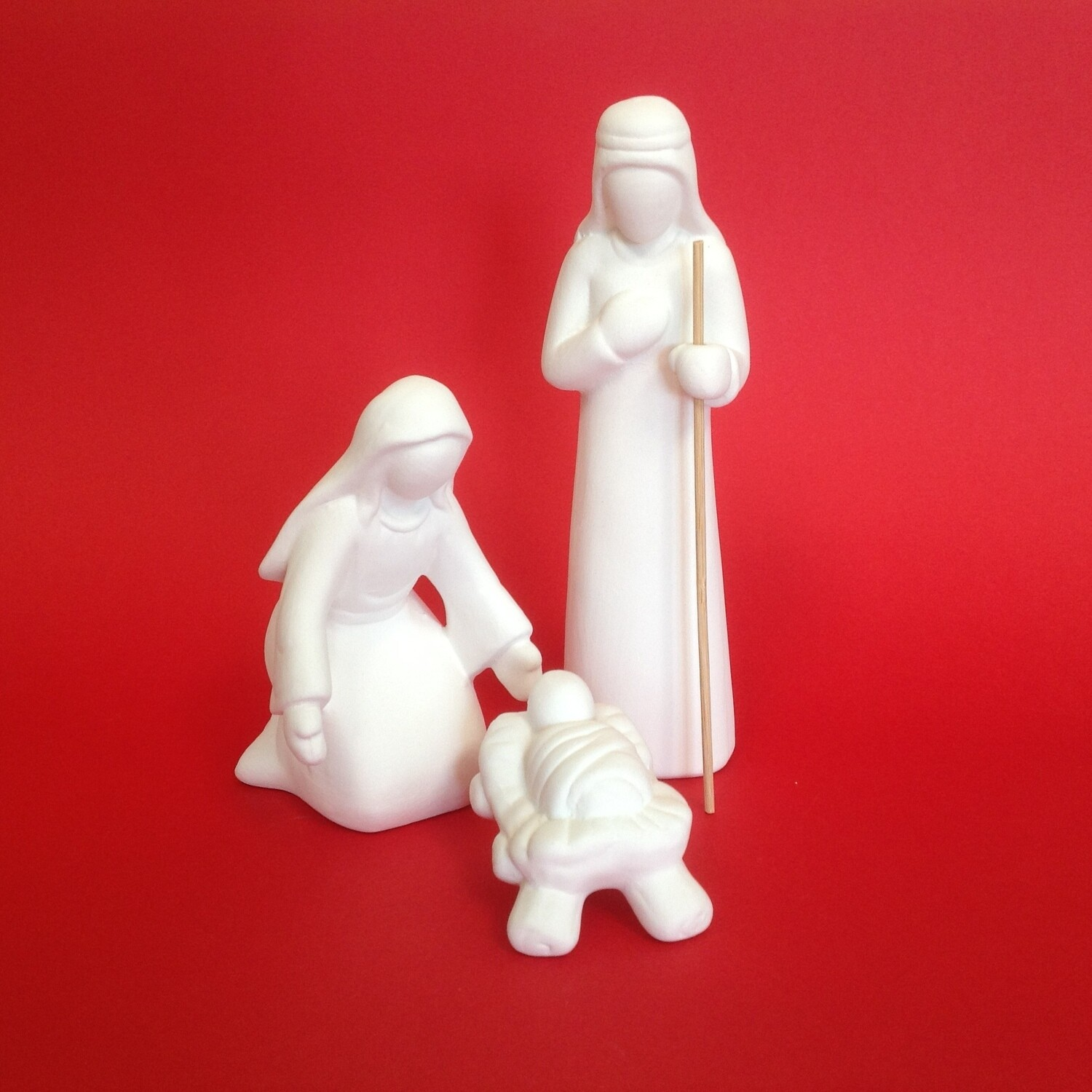 Contemporary Nativity, 3 piece, Joseph 18cm