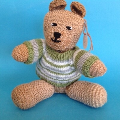 Bear In jumper