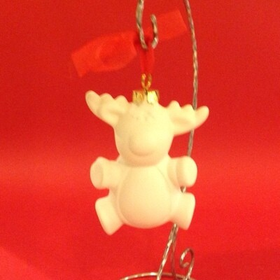 Reindeer 3D hanging ornament