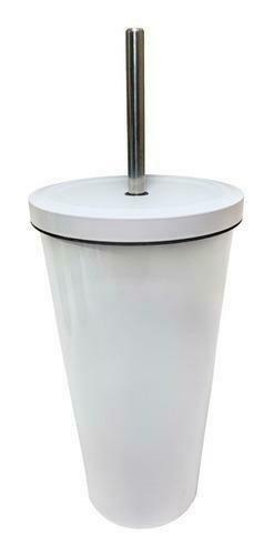 Vaso Starbucks de acero inoxidable color blanco 17 Oz.
