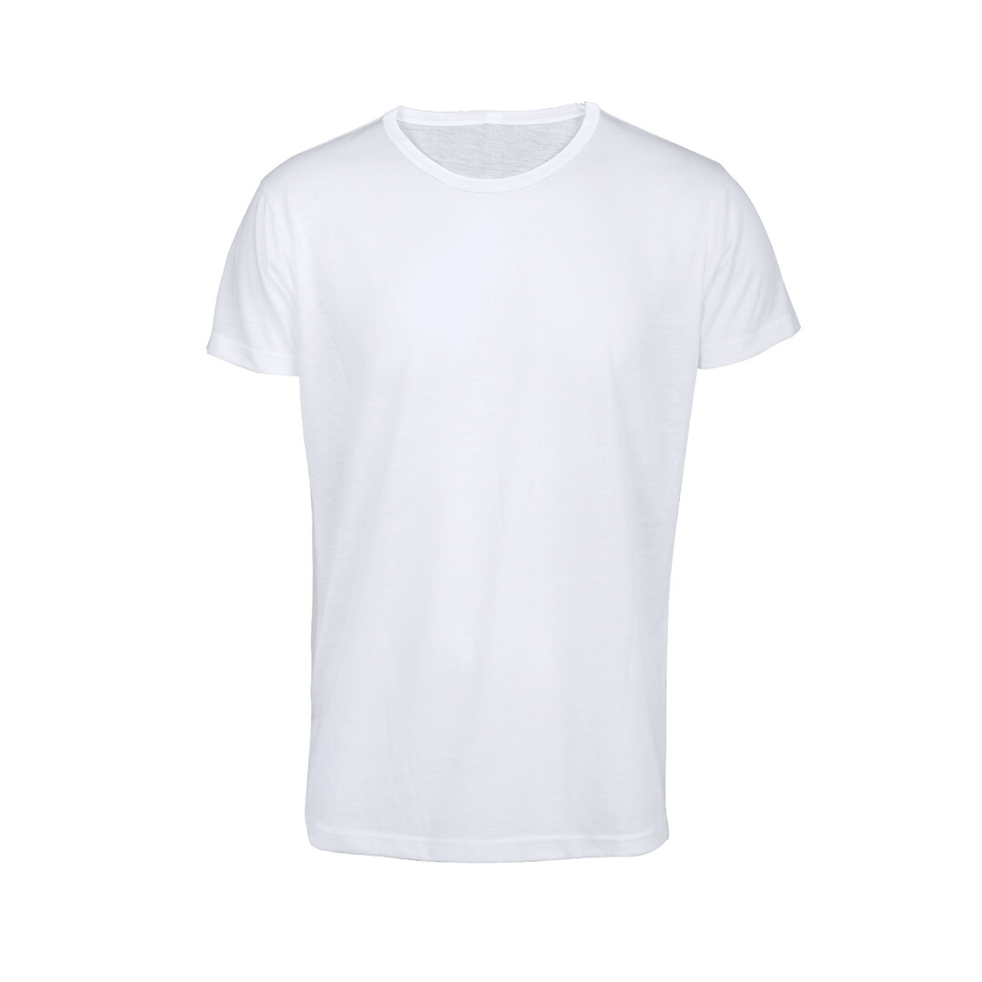 T-shirt de poliester 140 g/m2 con tacto algodón para adultos