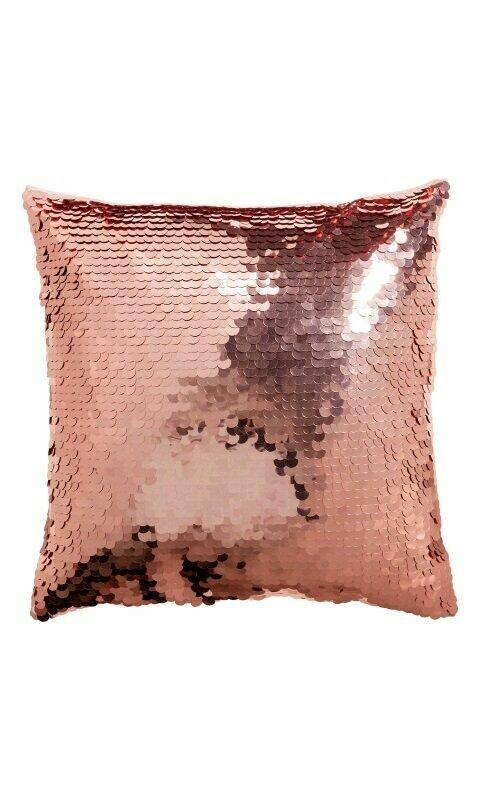 Funda de almohada sublimable con lentejuelas 35 x 35 cm