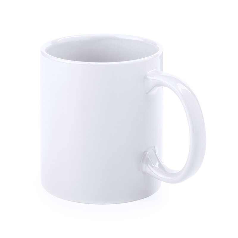 Taza blanca de cerámica para sublimación