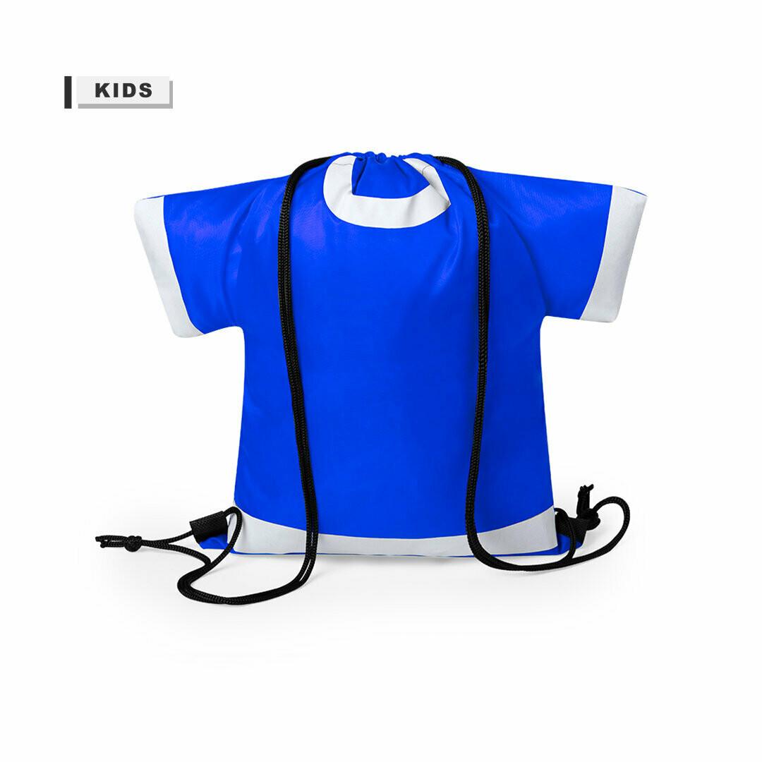 Mochila en forma de camiseta para niños