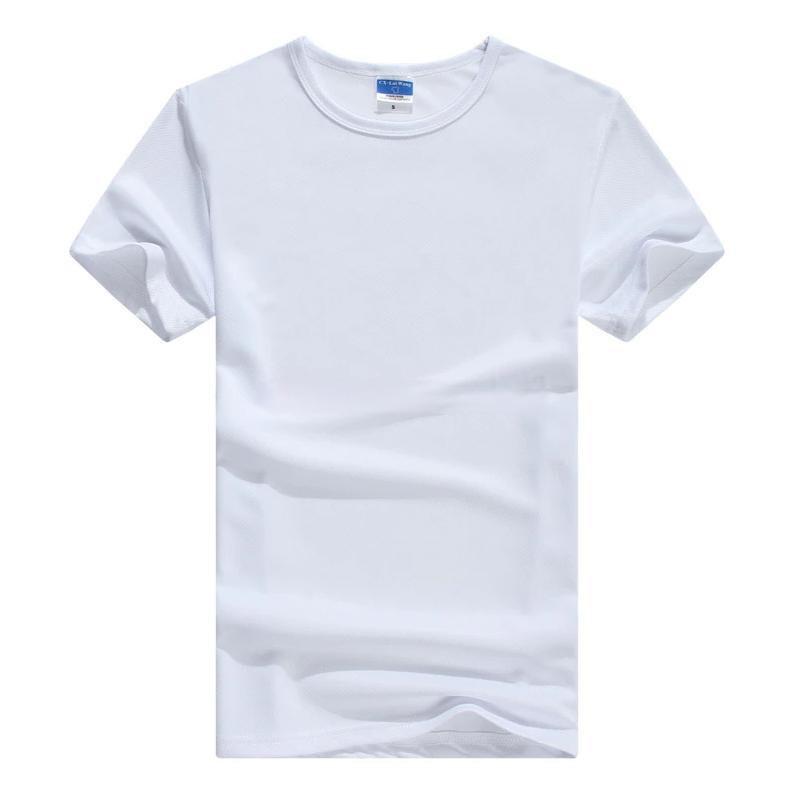 T-shirt tacto algodon sublimable con spandex para caballeros 200 gr.