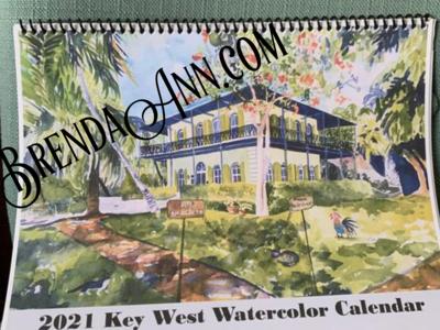 2021 Key West Calendar