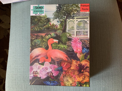 Key West Puzzle - 500 Piece Butterfly and Nature Conservatory Puzzle 18