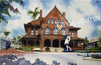 Key West Puzzle - 500 Piece Custom House Puzzle 18