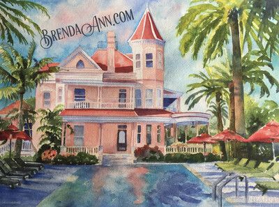 Key West Puzzle - 500 Piece Southernmost House Puzzle 18