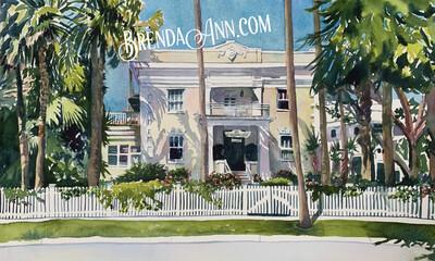 Key West Puzzle - 500 Piece Weatherstation Inn Puzzle 18