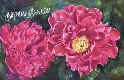 Flower Puzzle - 500 Piece Pink Peony  Puzzle 18