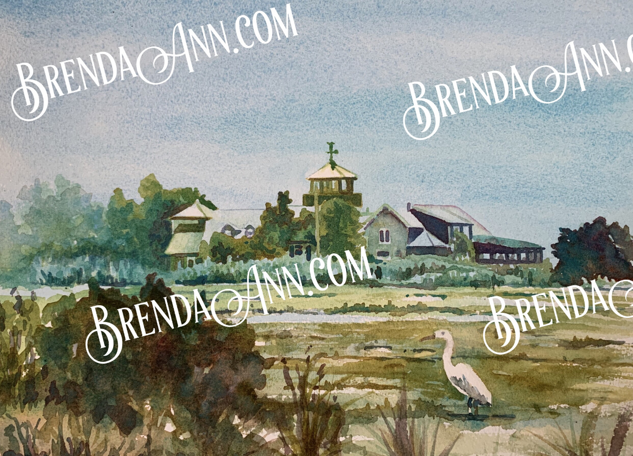 """PUZZLE - 500 Piece The Wetlands Institute Stone Harbor NJ Puzzle 18""""x24"""" Special Order - Allow 3 Weeks"""