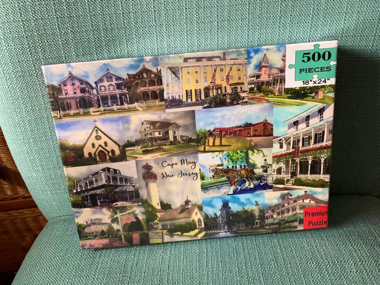 "Cape May Puzzle - 500 Piece Puzzle 18""x24"""