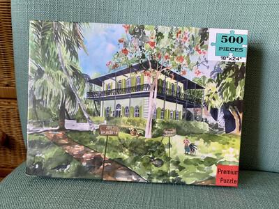 Key West Puzzle  - 500 Piece Hemingway House Puzzle 18