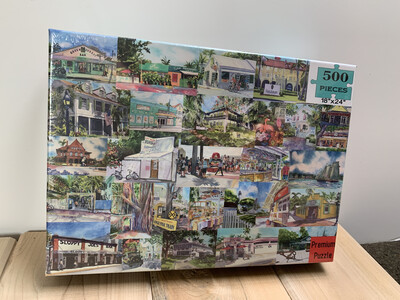 Key West Puzzle - 500 Piece Puzzle 18