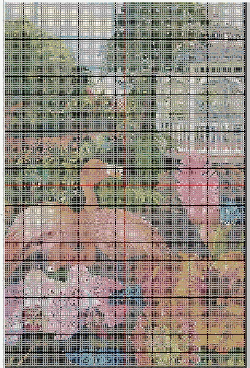 Beautiful Key West Butterfly Garden Cross Stitch - Pattern Only - Instant Digital Download