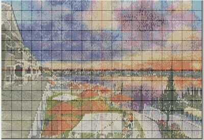 Stone Harbor NJ Sunset at The Reeds at Shelter Haven Cross Stitch - Pattern Only - Instant Digital Download