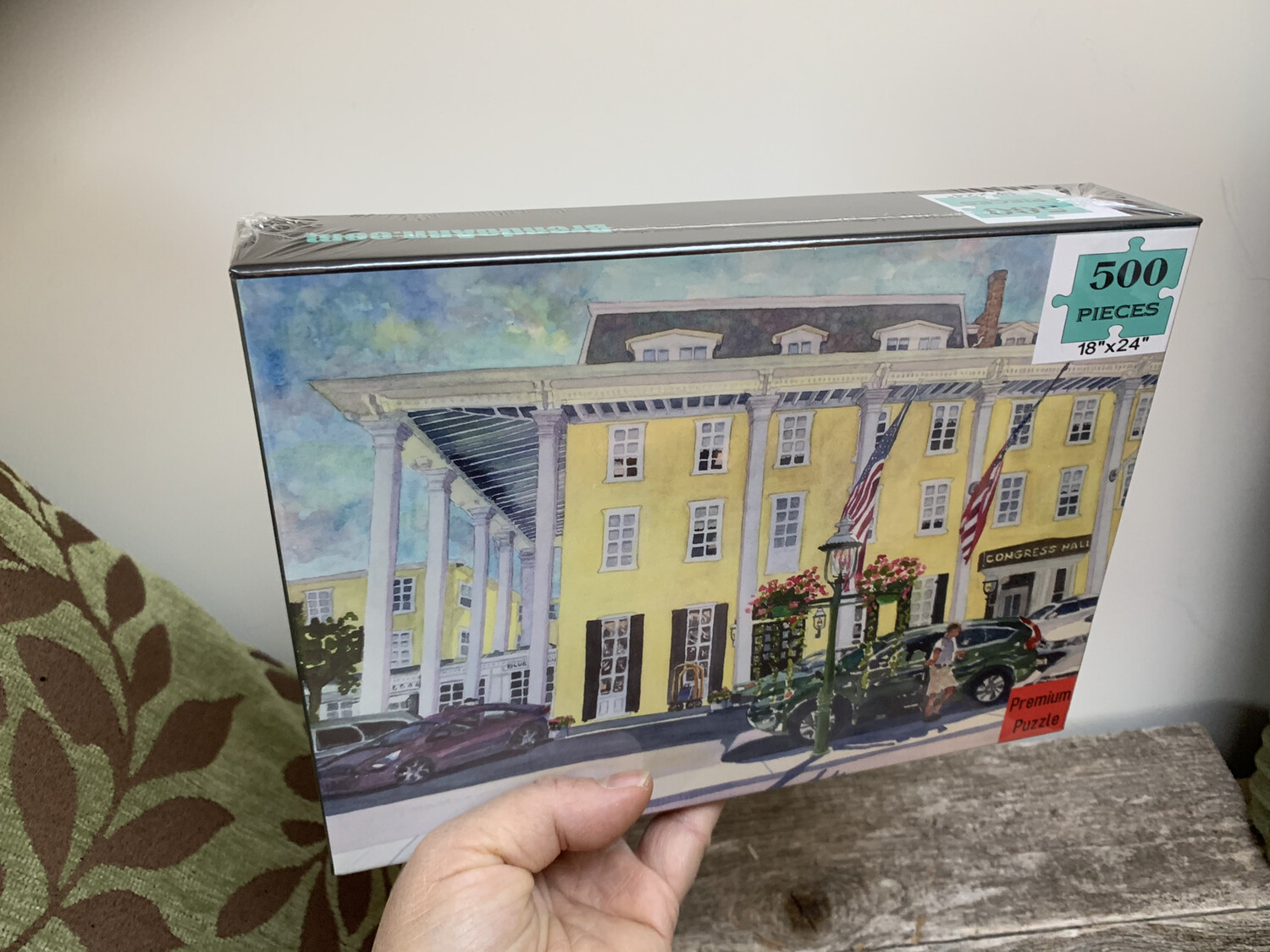 """Cape May Puzzle - 500 Piece Congress Hall Puzzle 18""""x24"""""""