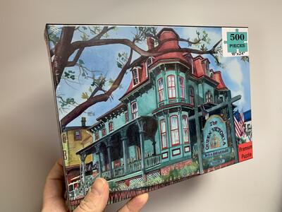Cape May Puzzle - 500 Piece Queen Victoria Bed & Breakfast Puzzle 18